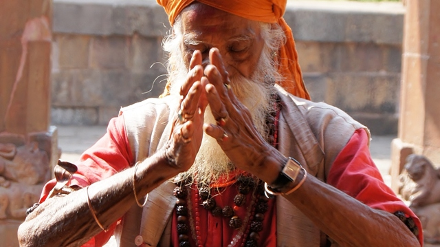 Pictures of India Namaste